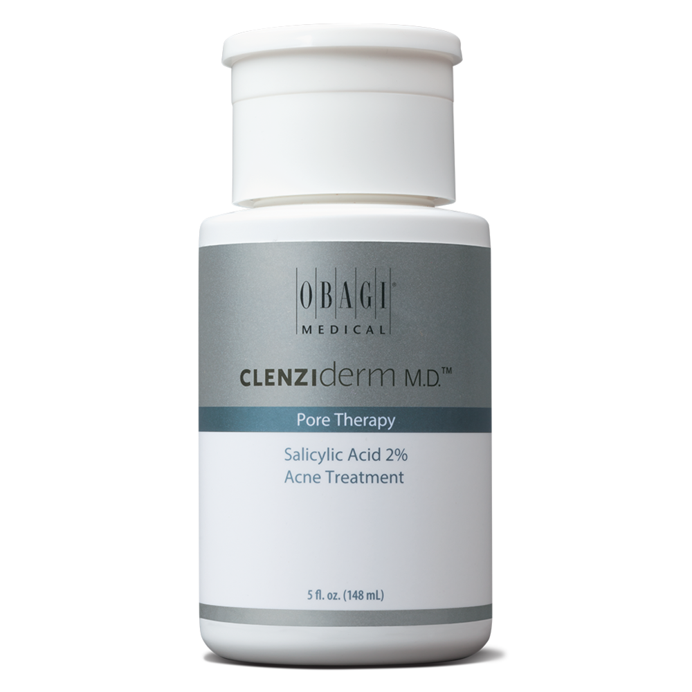 Step 2 - With 2% Salicylic Acid, this product acts in a similar way to the CLENZIderm Foaming Cleanser by unclogging pores and clearing dead skin cells while leaving a refreshed feel to the skin. Excess oil production is controlled and the complexion appears refined and pores less noticeable.