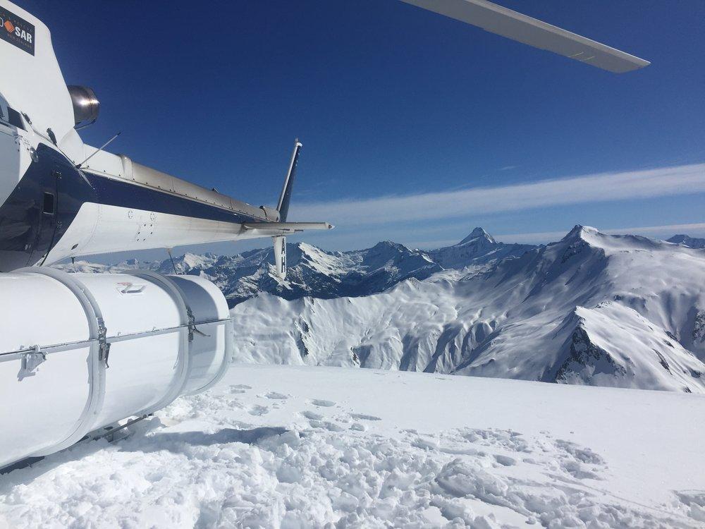 Aspiring National Park - Harris Mountain Heli Ski