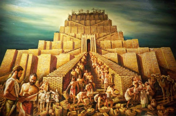 'The ancient world was filled with huge structures...' -