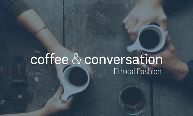 This Sunday evening we're hosting our Coffee & Conversation space. This month we are discussing 'Ethical Fashion'. @phairycakes & @chloeloughridge will be sharing about their experience learning about ethical fashion, before we open up the conversation and give everyone space to engage in conversation about this huge subject... all while we enjoy some wonderful coffee and treats available to purchase at the Origin bar. So, come and join the conversation. You might be passionate about the subject, or it might be the first time you have engaged in thinking about ethical fashion... everyone is welcome. Each of our voices matter. • Sunday 15th 6pm @originspace • #ethicalfashion #conversation #showupdisrupt #coffee #tabling #church