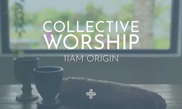 This Sunday we gather for Collective Worship. Join us for a liturgy of song, prayer, story and fellowship. Sunday, 11am. Coffee/tea from 10.30am. @originspace