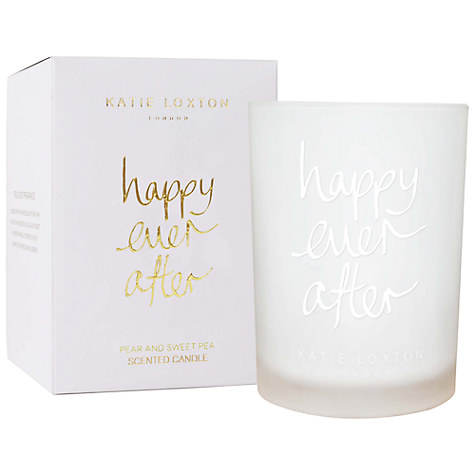 Katie Loxton 'Happily Ever After' Candle £20