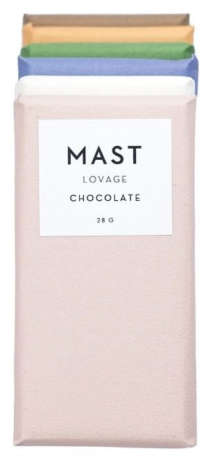 Mast,  A collection of six chocolate bars paired with herbs £20