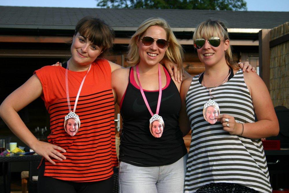 Bride medals