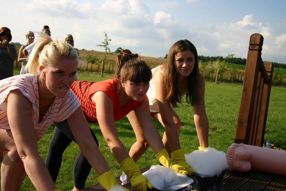 Washing up bowl relay