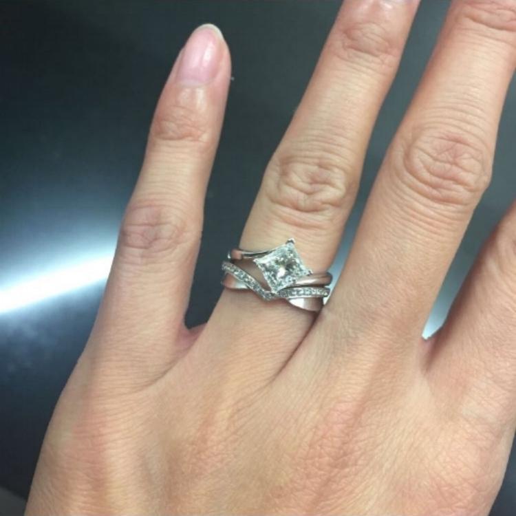 Susan's beautiful ring.