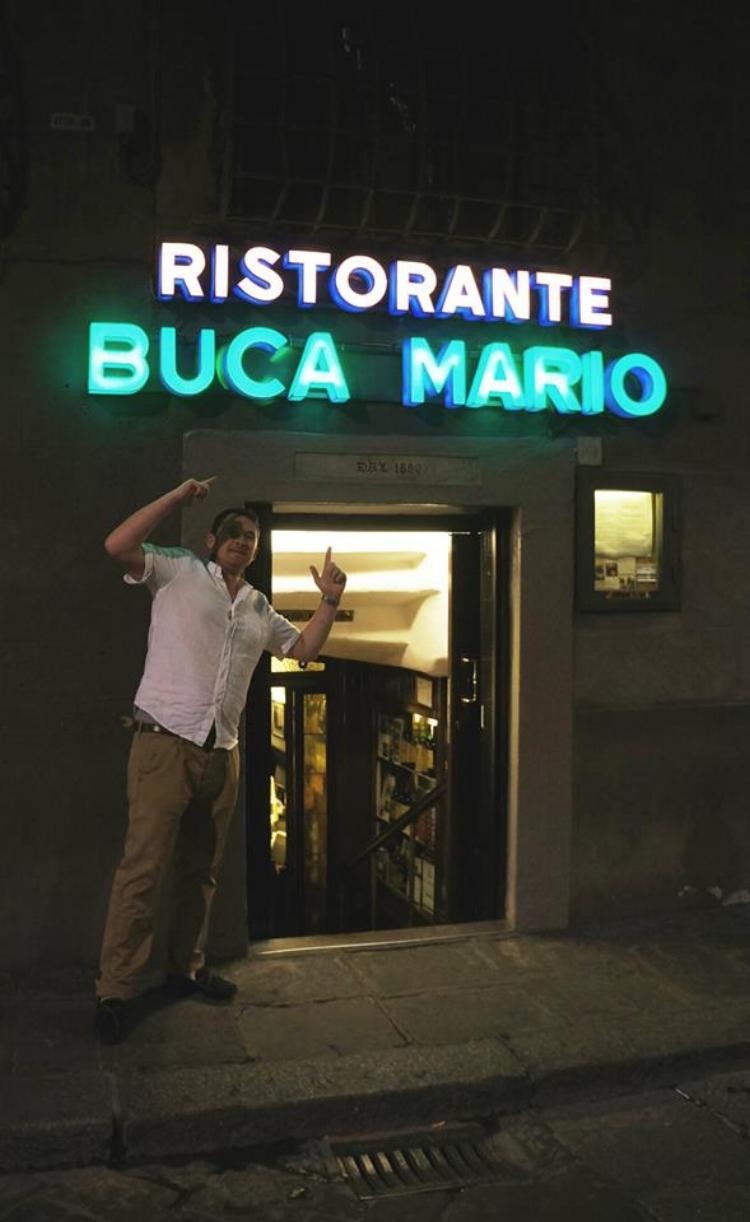Buca Mario restaurant heaven