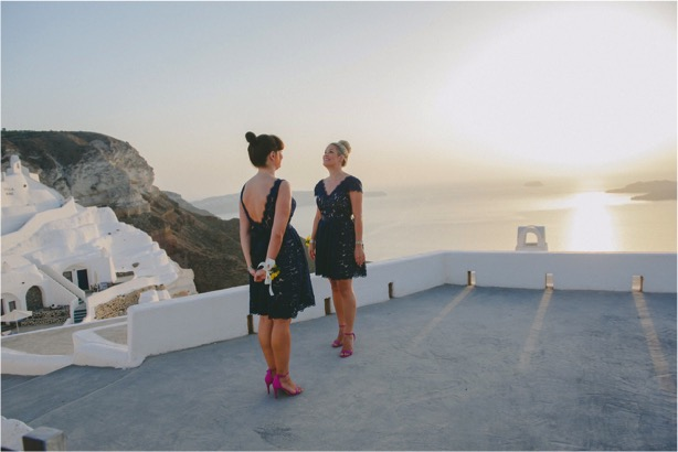 TH&TH Privé for a chic Santorini wedding