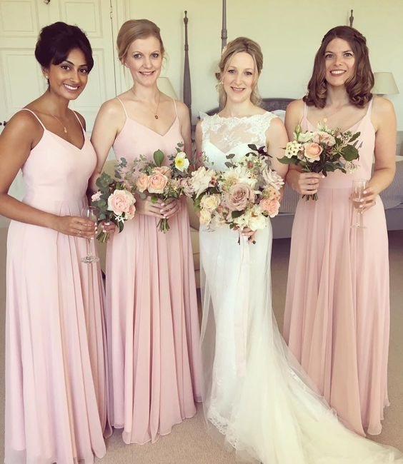 Jen's gorgeous girls wearing Edie in Blush.