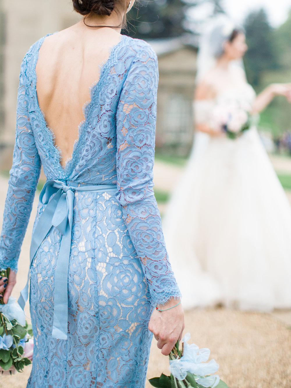 Alara gown at Co-Founder Louie's wedding. Photo -  Amy O'Boyle