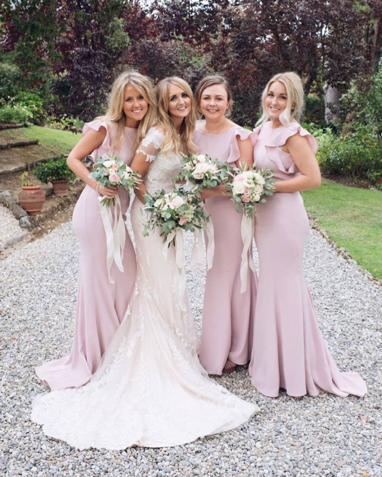 Cecelia in Smoked Blush for Laura's gorgeous girls. Photo -  Noniin