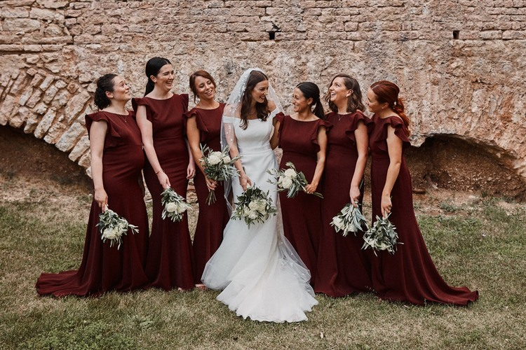 Jess and her best girls wearing Cecelia in Roseberry - Photo  Benjamin Wheeler