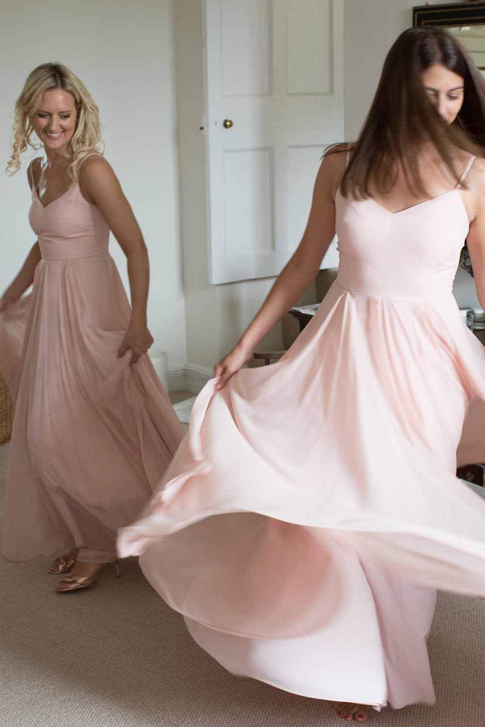 Sophie's gorgeous girls in Edie in Blush - Photo  Lucy Tanner