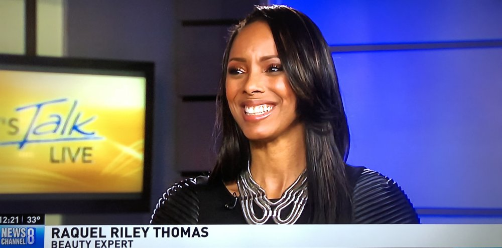 "Raquel Riley Thomas on ABC ""Let's Talk Live"""