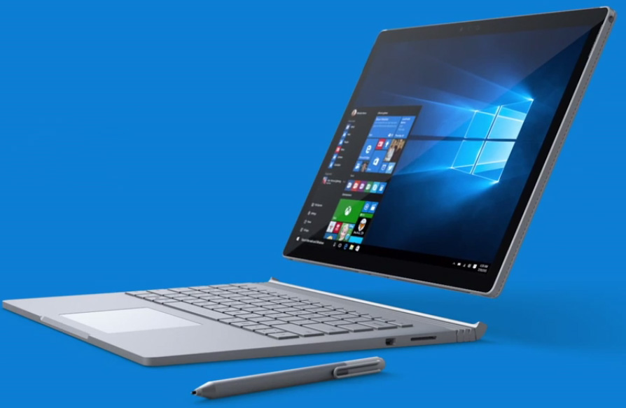 microsoft releases its first laptop