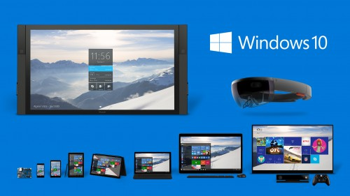 Photo: From Windows 10 release announcement on www.blogs.windows.com