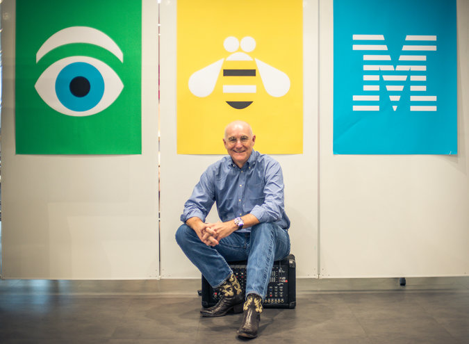 "IBM's Phil Gilbert is leading the company in the ""design thinking"" way. Photo Credit: Sandy Carson for The New York Times as reported in the article ""IBM's Design-Centered Strategy to Set Free the Squares,"" 11/14/15."