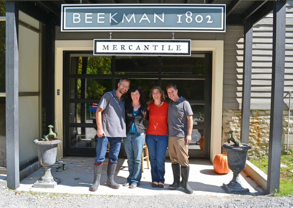 "Beekman 1802 is just one example of how successful small businesses are making a personal connection with their customers and community. Photo from Forbes article, 11/15/17, "" How To Be Successful This Small Business Saturday: Make Retail Personal Like Beekman 1802"""