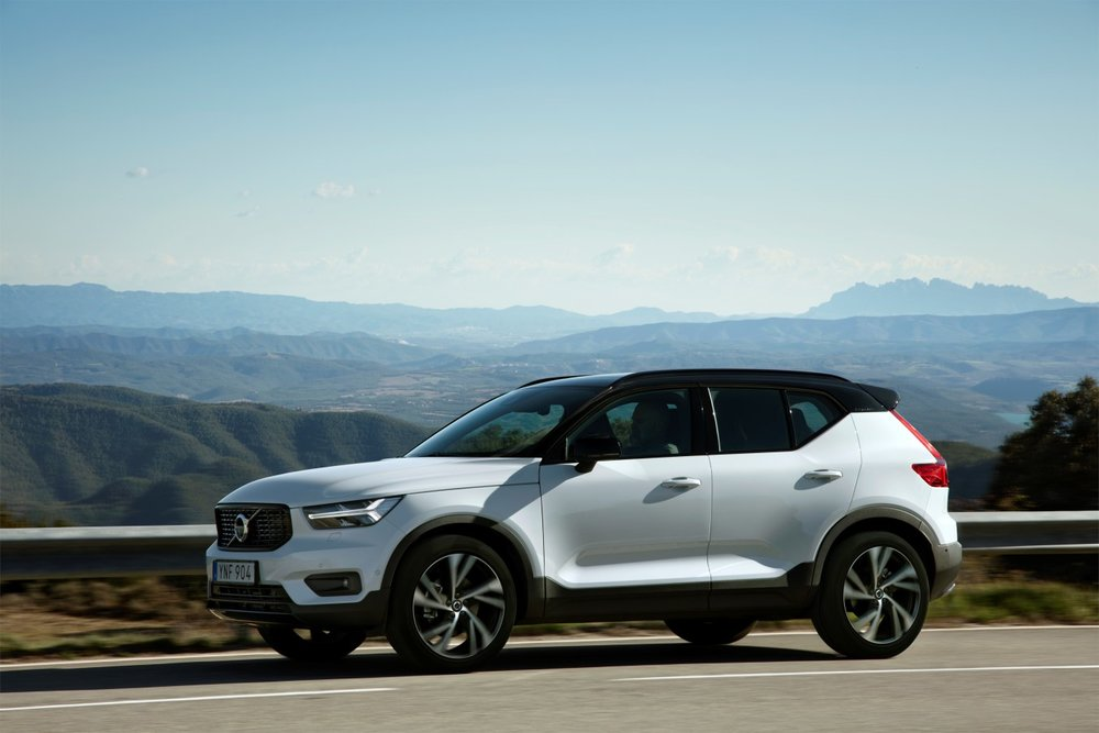 Volvo is now offering a subscription service called 'Care by Volvo' for the new XC40 SUV. Photo from report by  TechCrunch  on 11/30/17.