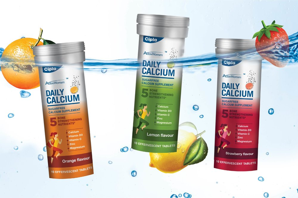 PACKAGING FOR CALCIUM SUPPLEMENTS