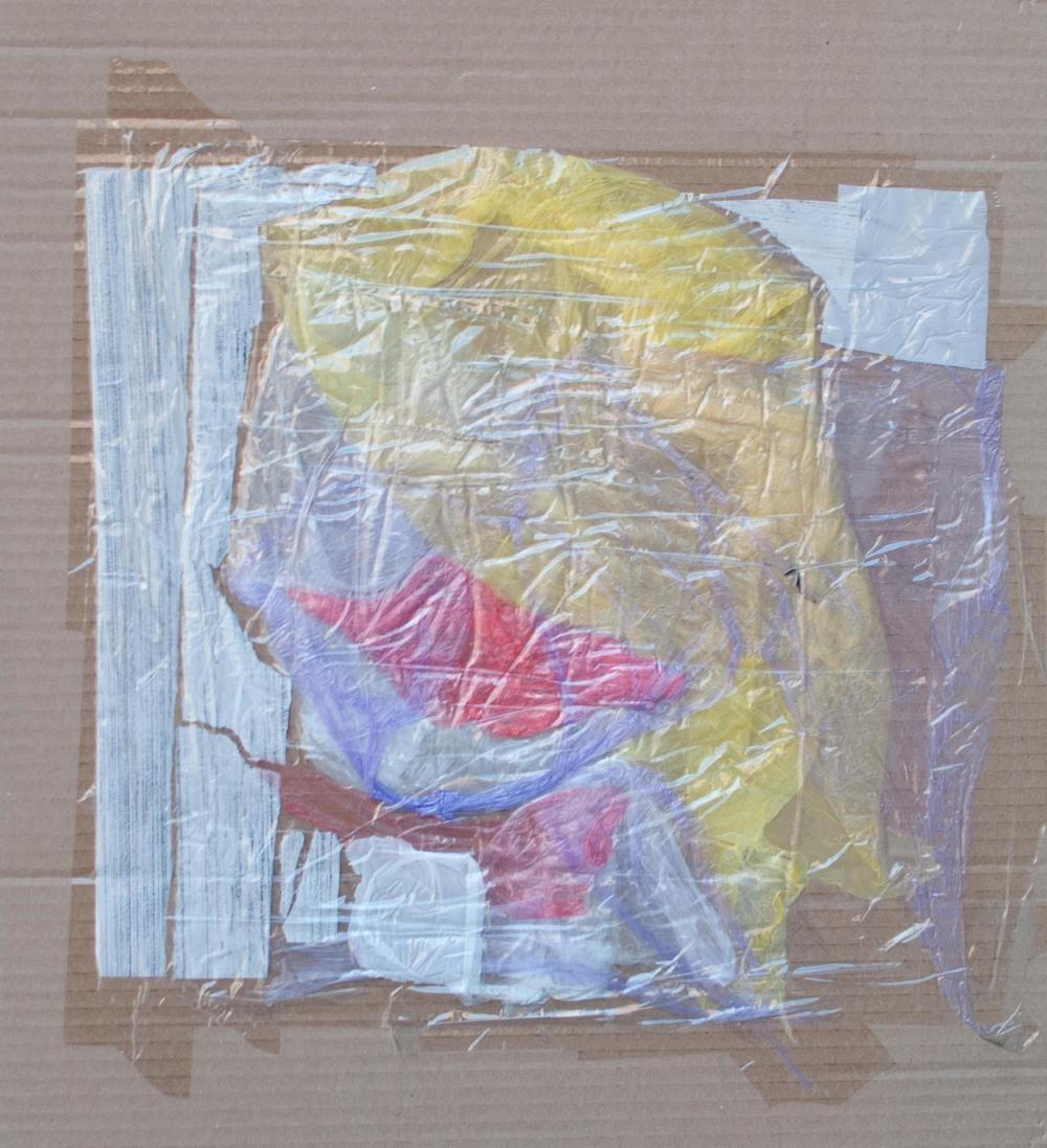 Plastic kiss  17x15 cm