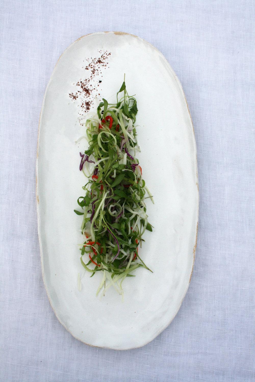 image3.jpg & White Gloss on Stoneware Extra Large Oval Dinner Plate \u2014 mirlo
