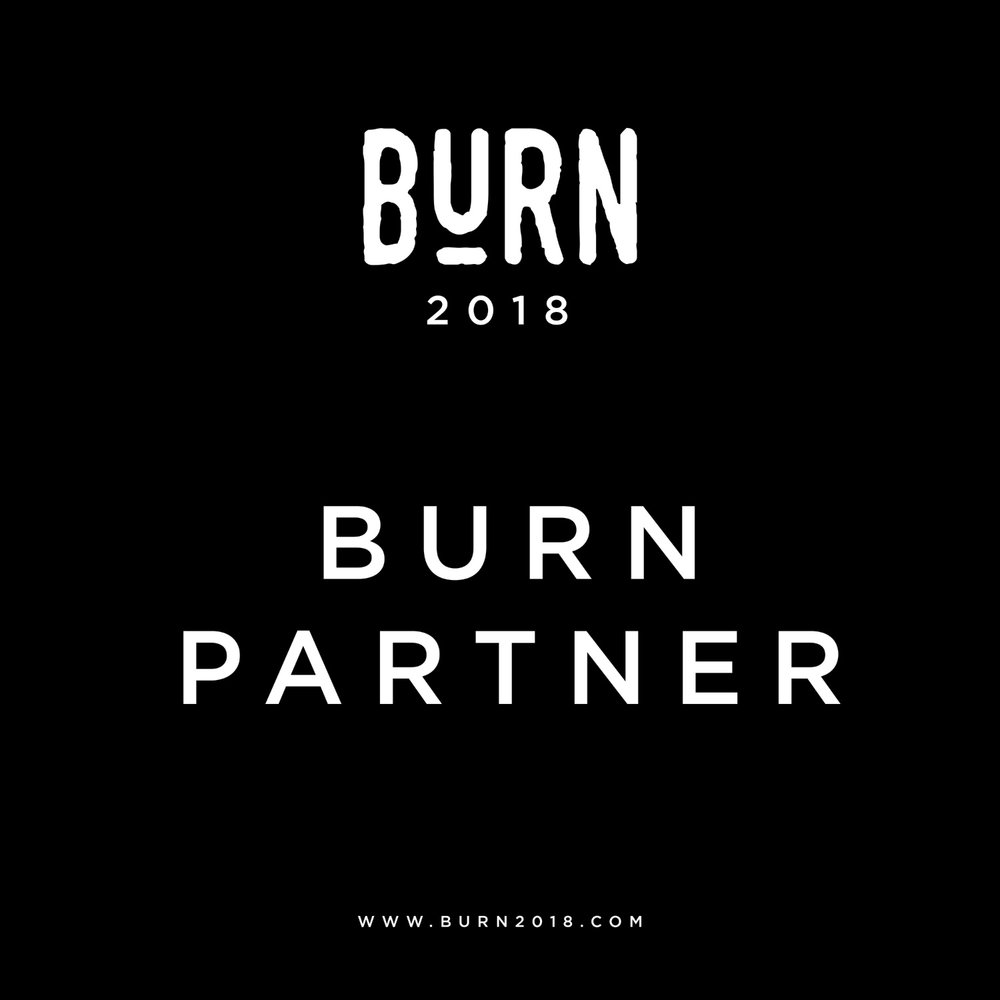 BURN PARTNERS will receive  2 BURN MOVEMENT (Day 1) tickets to giveaway in social media promotions.   A stall in the social gathering area of the conference centre near to the coffee shop, this stall will be up for the duration of the both days events and potential customers will have time to come and try out your product & talk to your staff.    Your logo & link on the BURN website.    5 mentions on the BURN Instagram & Facebook pages.    COST - £550 plus two items/subscription of yours to giveaway during our event promotion & a discount code that we can share with attendees.