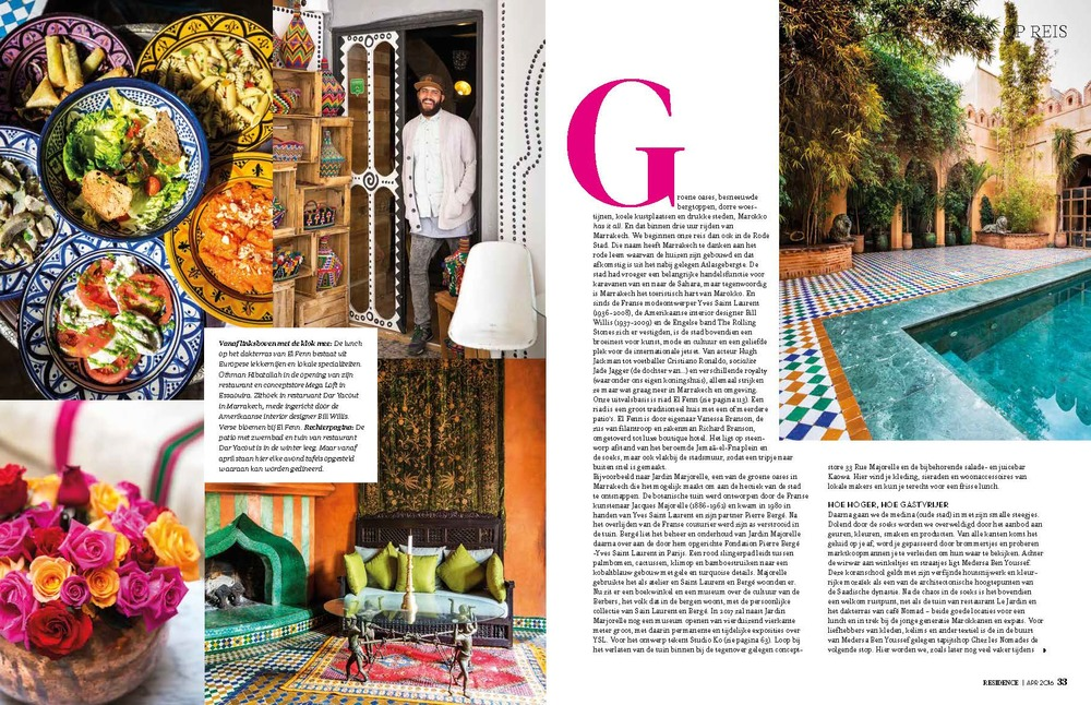Residence Magazine Page 2