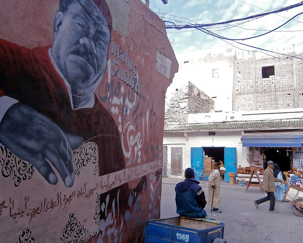 Street art in Essaouira