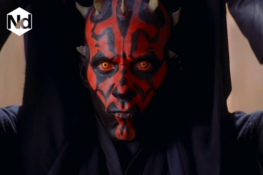 Ray Park as Darth Maul in the Star Wars