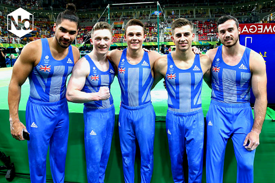 GB Gymnastics Team, Rio 2016 - Nicholas Daines
