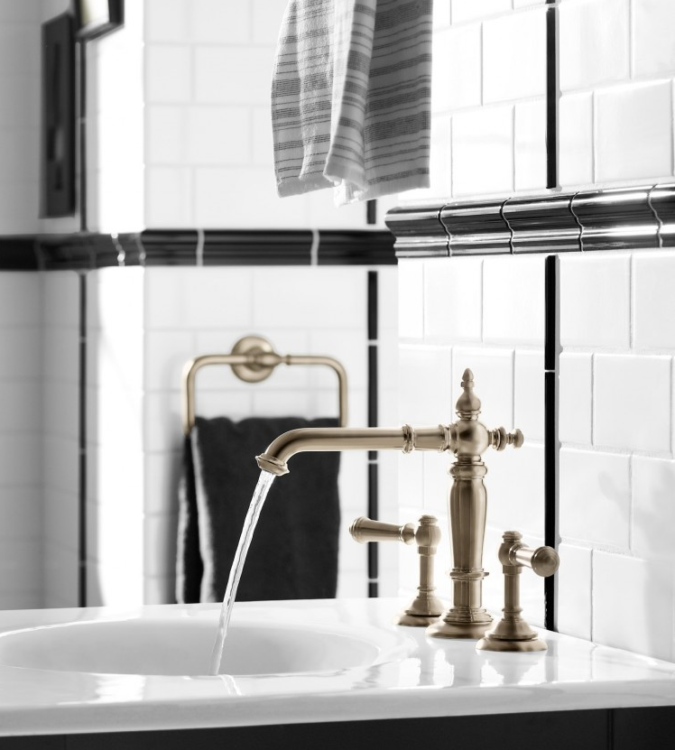KOHLER- Charlie Chaplin Inspired Bathroom