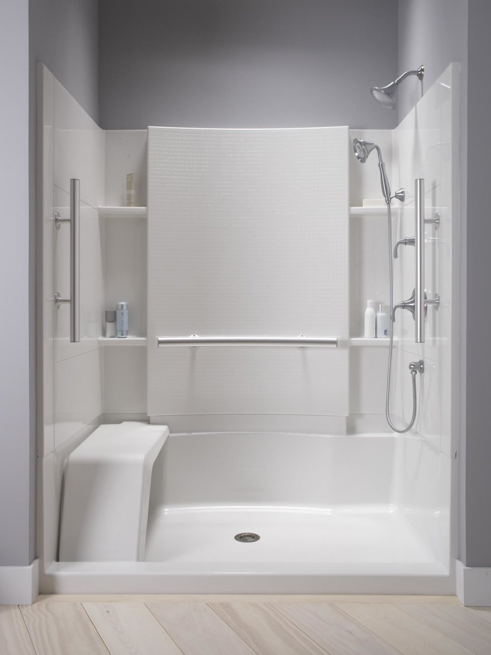 Sterling Accord Shower Seat - Aging In Place Bathrooms