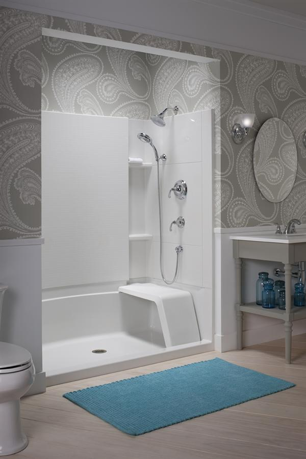 Sterling Accord Seated Shower with Hand Showers