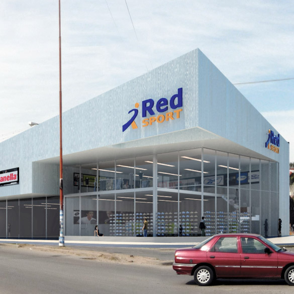 Local Comercial Red Sport