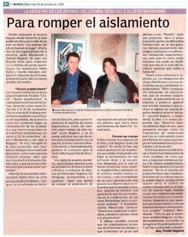 Diario El Cronista - 2002