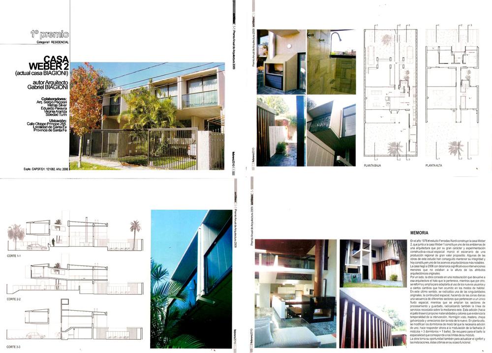 Premio Anual de Arquitectura 2009 - Residencial