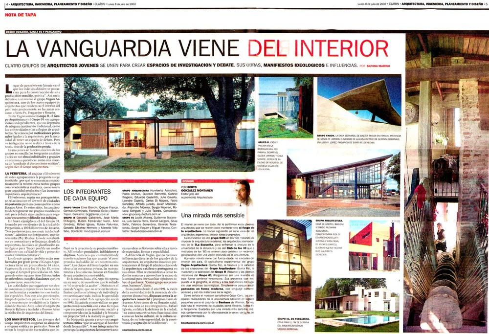 Diario Clarin - 2002