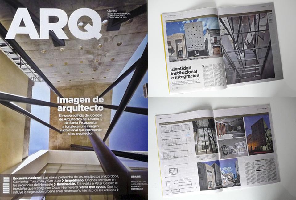 Revista ARQ. Clarín - 2011
