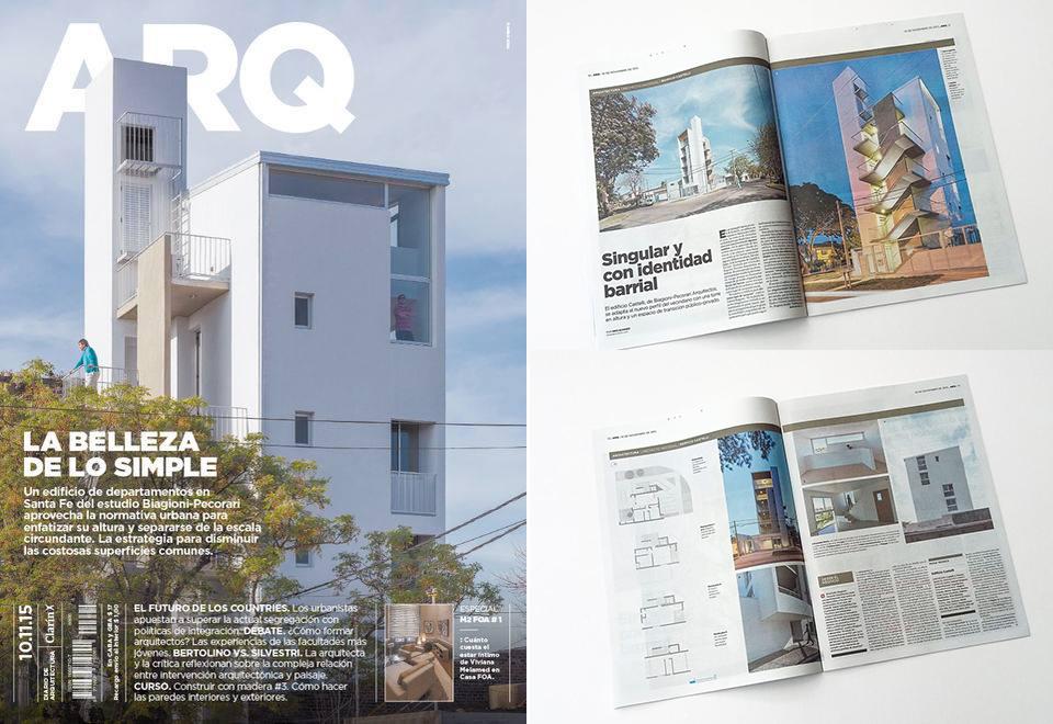 Revista ARQ Clarin - 2014