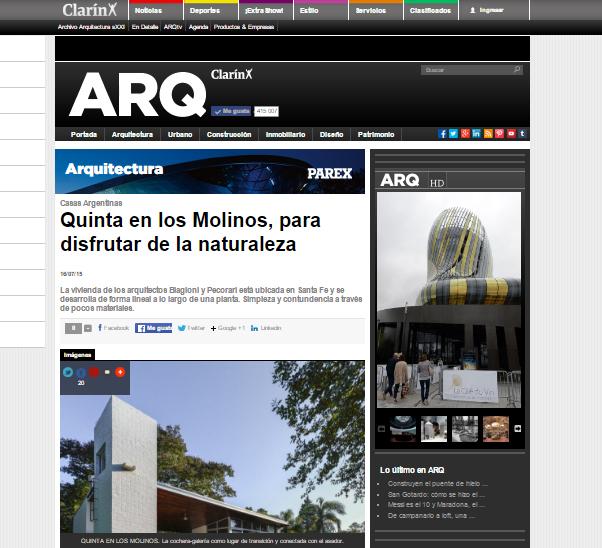 Web - ARQ Clarín - 2015