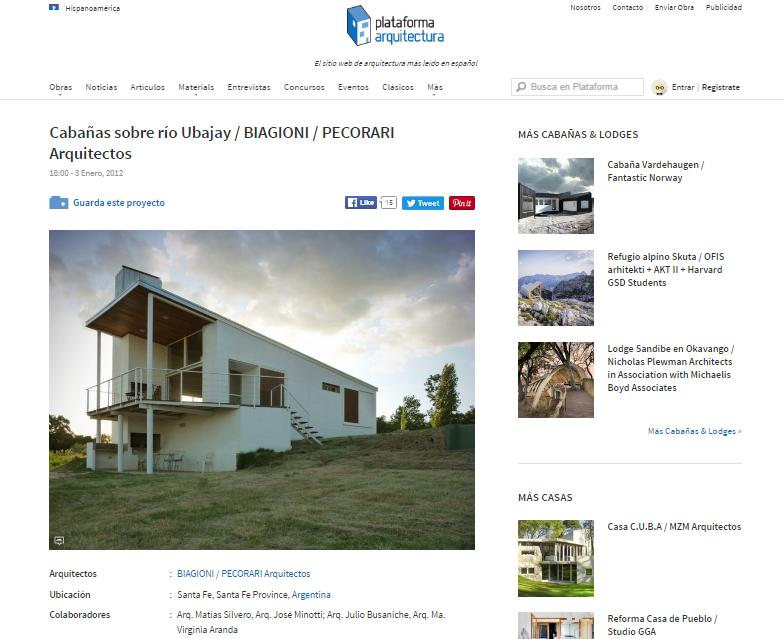 Web - Plataforma Arquitectura - 2012