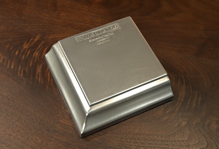 Aluminum Countertop Metal Sample