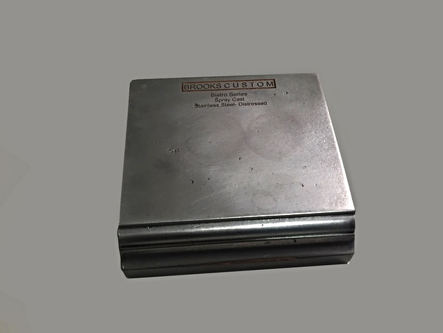 Stainless Steel Cold Cast Metal Sample