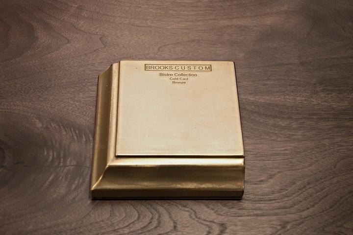 Bronze Countertop Sample