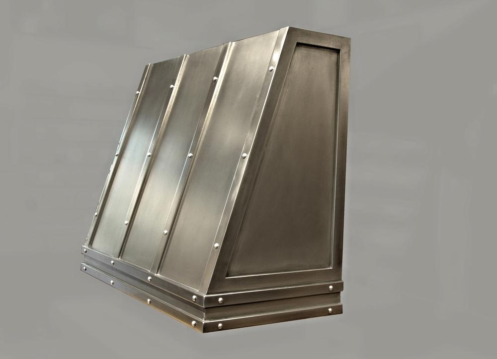 Modern Zinc Range Hood Shell
