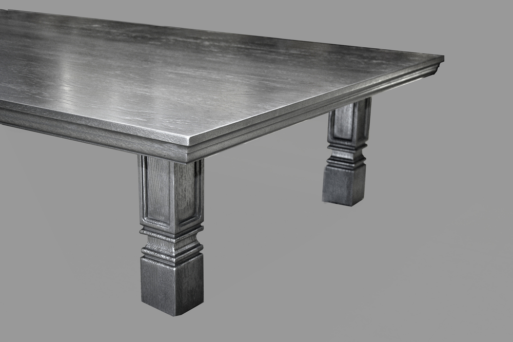 Nickel Coated Coffee Table