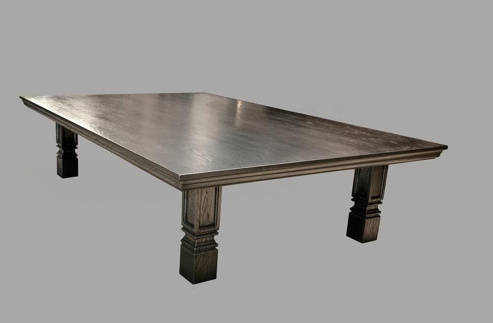 Nickel Custom Puzzle Table
