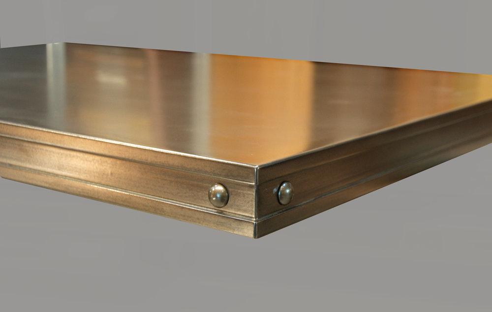 Bronze Countertop with Allentown Edge