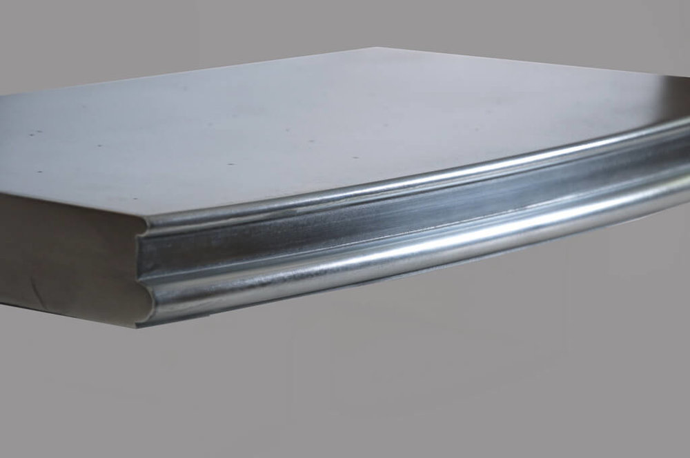 Wellington Edge Profile in Stainless Steel